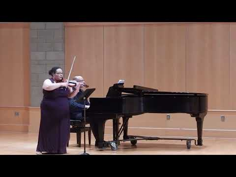 Sonata for Violin and Piano: III Allegro vivo con fuoco (Samuel Coleridge-Taylor)