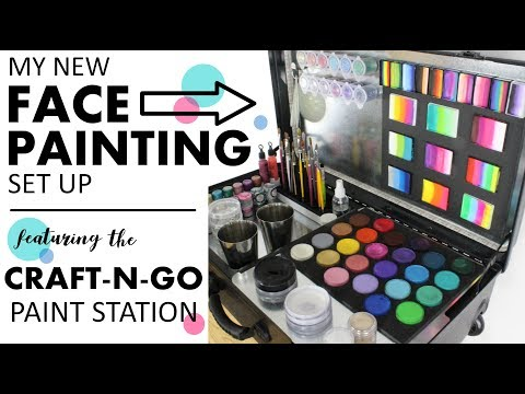 Craft-N-Go Face Painting Kit - Review & Demo