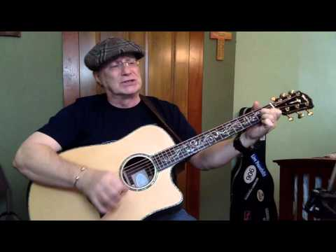 1970 -Why Me Lord -Kris Kristofferson vocal & acoustic guitar cover & chords