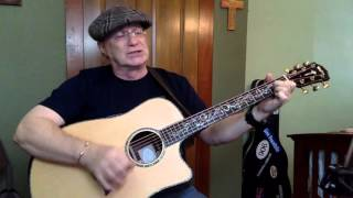 1970 -  Why Me Lord -  Kris Kristofferson vocal & acoustic guitar cover & chords