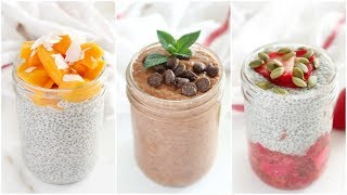 How To Make Chia Pudding  3 Healthy Breakfasts