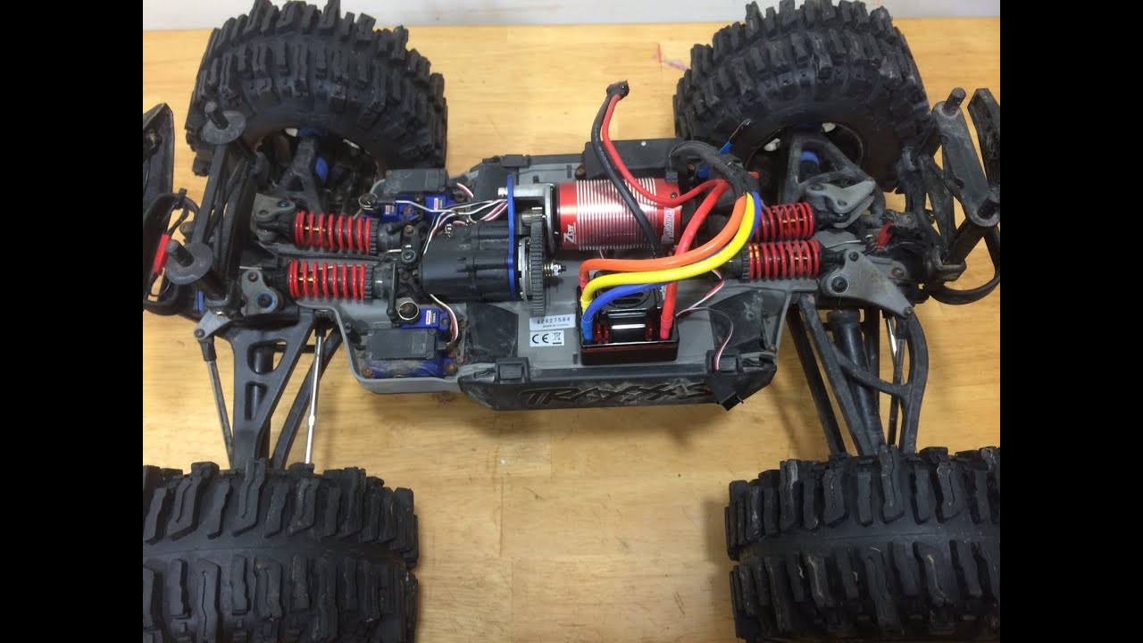 Installing the ZTW Beast 1 8 Brushless system in my Traxxas Summit