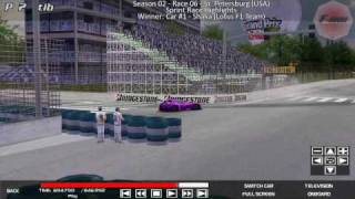 FormulaDuude - Race Highlights @ St. Petersburg Sprint Race (Season 02 - Round 06)