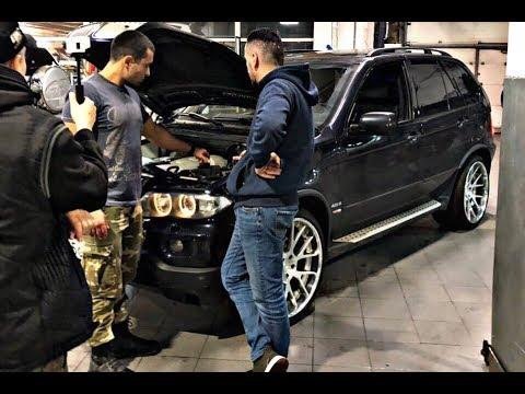 Капиталка мотора BMW N62 BMW X5 e53 4.8iS в Ходос Авто!
