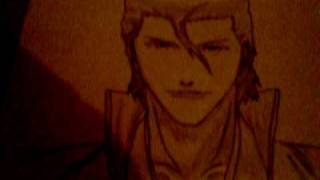 how to draw aizen
