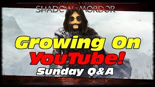 MAK Can You Give Some Tips For Growing Youtubers? Shadow Of Mordor 60 FPS PC Gameplay!