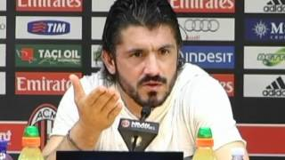 """Gattuso, ultime parole da rossonero: """"Mai alla Juve o all"""
