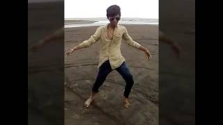 dancing in dumas beach by Aakash pandey