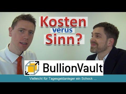 BullionVault: Goldkauf zu hohen Kosten?