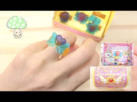 Edible ring!Sweet jewelring! Heart co.ltd