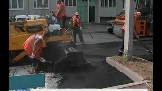 В столице республики ремонтируют дворы и строят парковки