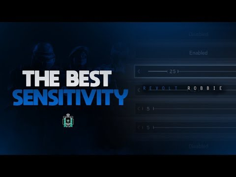 The Best Sensitivity On Console! - Rainbow Six Siege Diamond