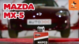 Montaż Poduszka stabilizatora MAZDA 323 F VI (BJ): darmowe wideo