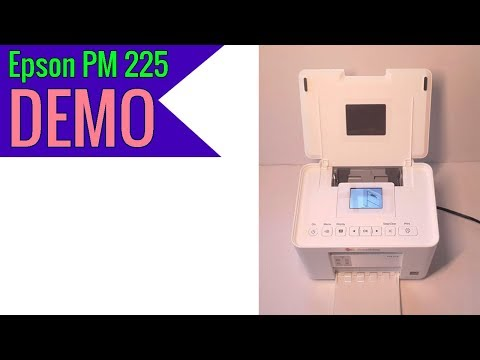 Epson PictureMate Charm Compact Photo Printer PM 225 2019 review