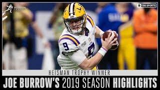Download Heisman Trophy Winner Joe Burrow's 2019 Season Highlights   CBS Sports Mp3 and Videos