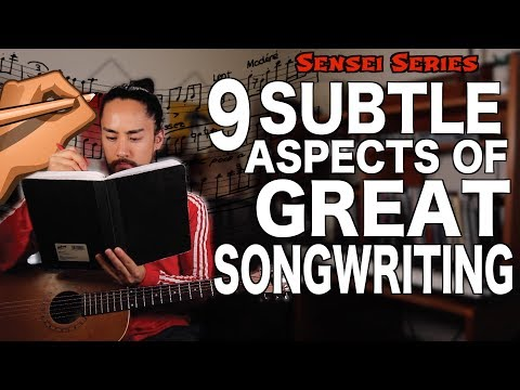 Subtle Aspects Of Great Songwriting