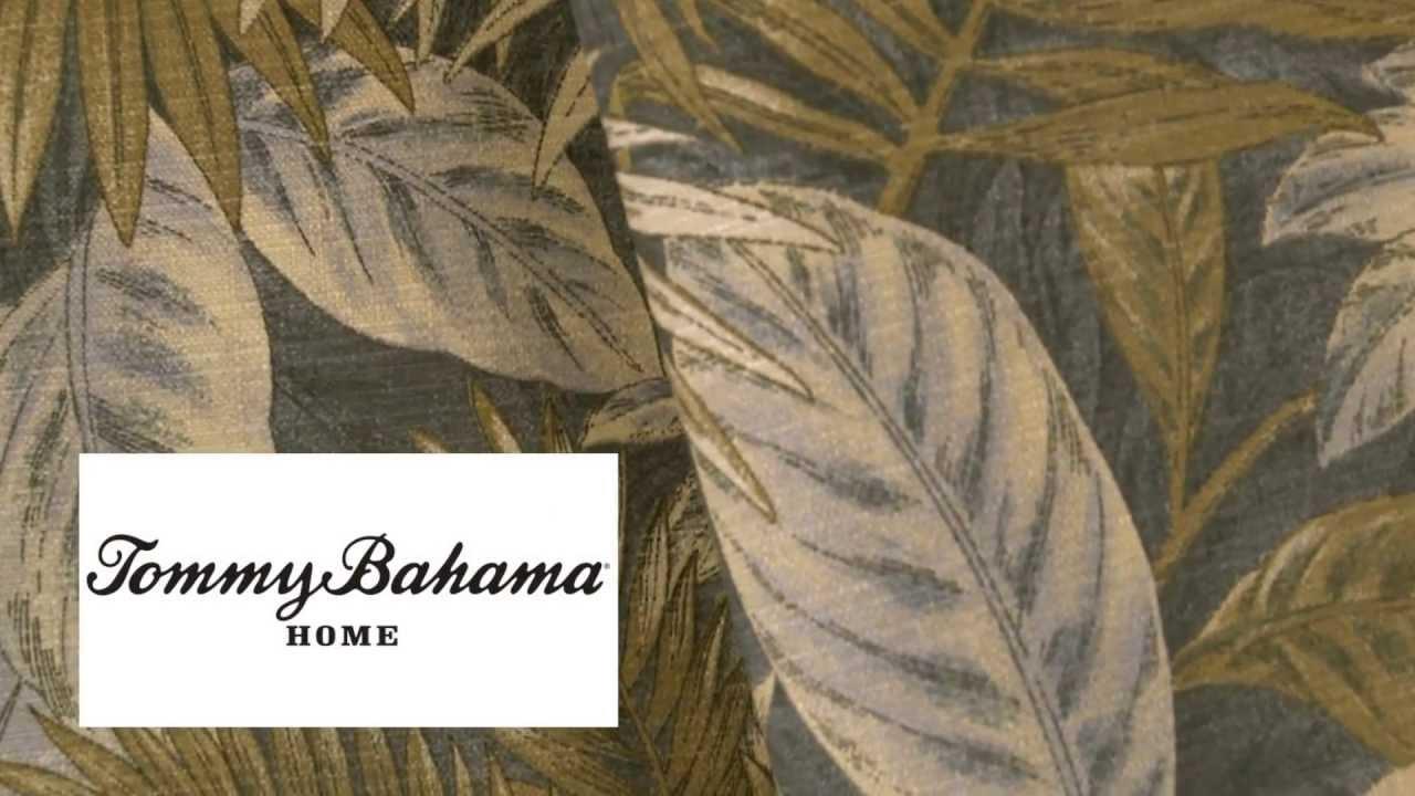 Video Of Tommy Bahama Outdoor Bahamian Breeze Ocean Fabric 800054