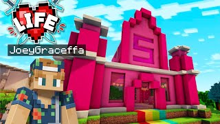 Building the 5 Heart Clubhouse! | Minecraft X Life #14