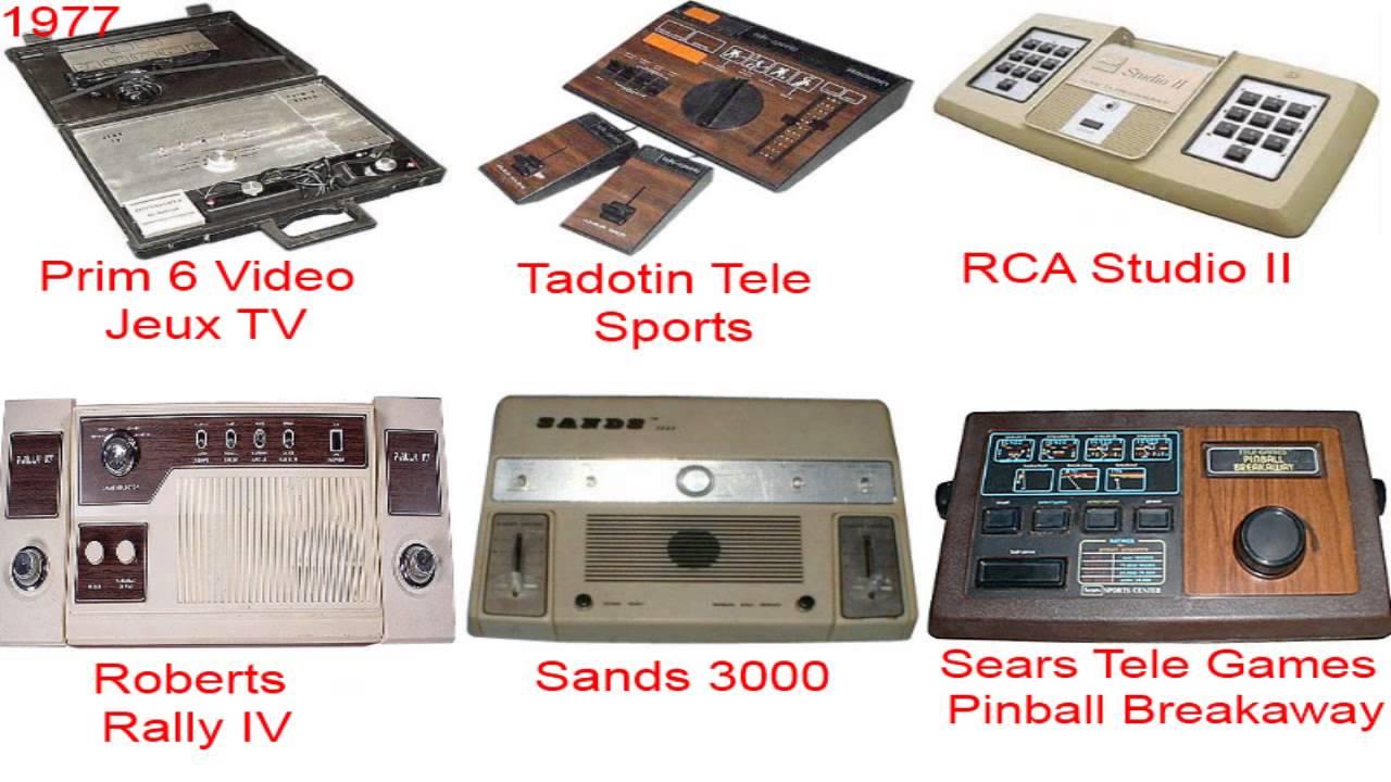 consolas de videojuegos primera generacion
