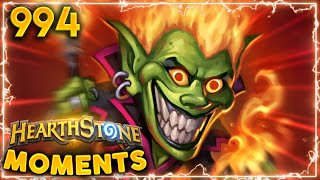 RUMBLE RUN IS GETTING OUT OF CONTROL!!! | Hearthstone Daily Moments Ep.994