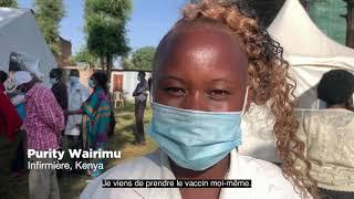 La vaccination des agents de santé commence dans toute l'Afrique