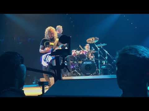 Metallica  Cyanide   922018  Kohl Center  Madison, WI  FRONT ROW