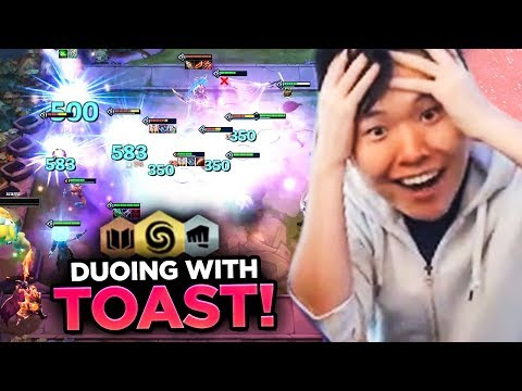 I GOT TO DUO WITH TOAST! | Teamfight Tactics