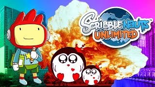 DEATH BY NUCLEAR PENGUIN | Scribblenauts Unlimited Part 2