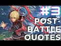 Xenoblade Chronicles 2 - Shulk and Fiora Post Battle Quotes ( Part 3 )