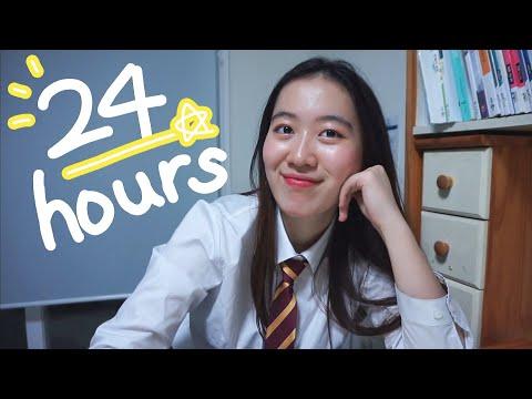 sleeping for 3 hours? 24 hours of Korean High School Student