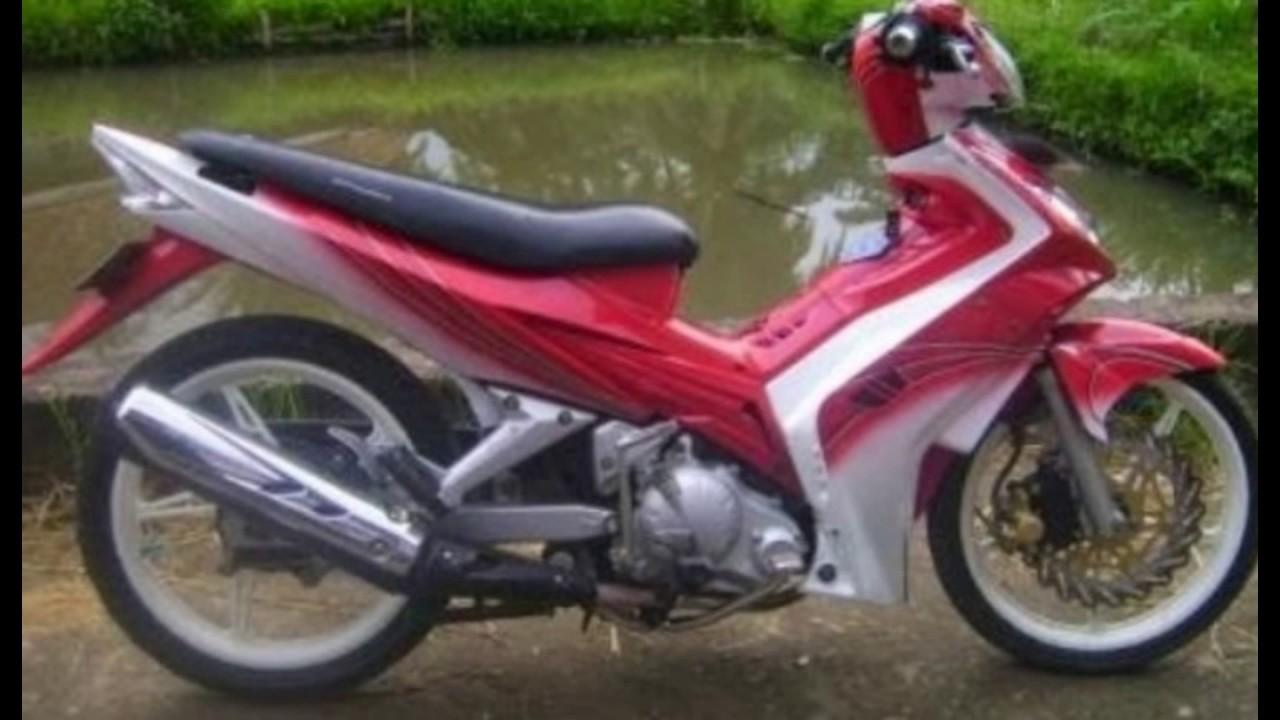 Cah Gagah Video Modifikasi Motor Yamaha Jupiter MX Airbrush