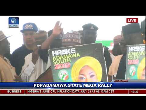 PDP Adamawa Kicks Off Atiku Campaign Pt.1 |Live Event|