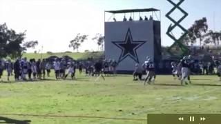 Dallas Cowboys Training Camp Highlights Part 5 || Rico Gathers Shines || Wr/Te vs Db ||