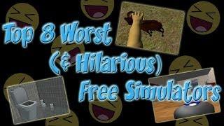 Top 8 Worst (& Hilarious) Free Simulation Games