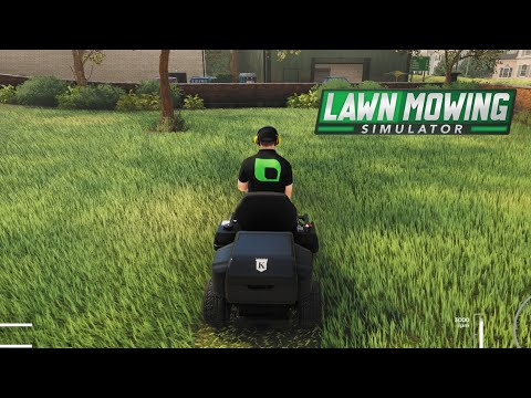 Lawn Mowing Simulator First Look |