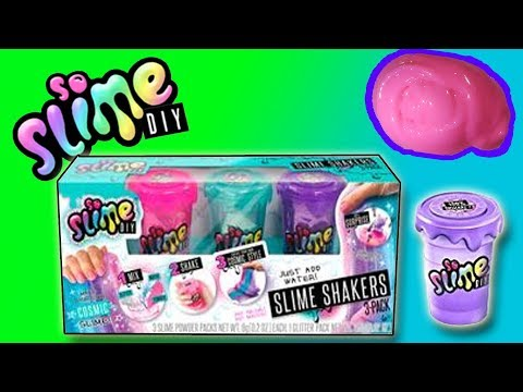 SO SLIME DIY - SLIME SHAKERS - MAKING SLIME AND PLAYING| Little Kelly & Friends ToysReview for Kids