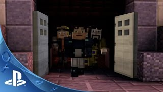 Minecraft: Story Mode – Episode 6 Guest Cast Interview | PS4, PS3