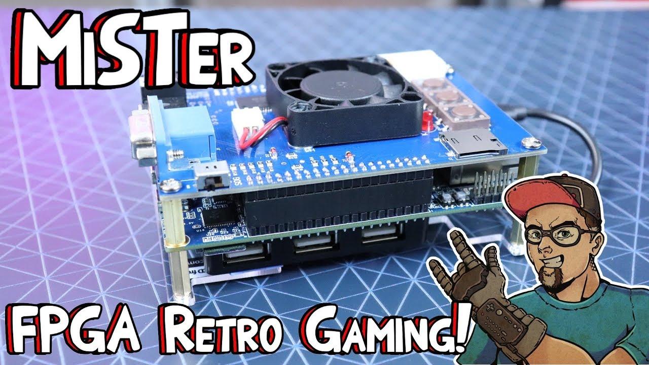 MiSTer FPGA Hardware Simulation Retro Gaming Using De10-Nano Cyclone