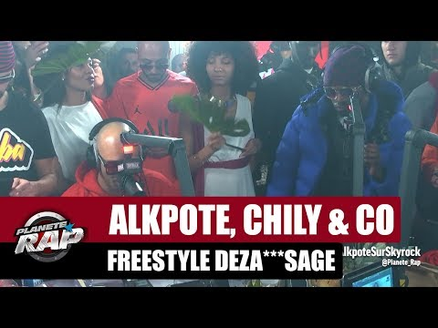 Youtube: Alkpote, Chily & Co – Freestyle Deza***sage avec Luv Resval & Savage Toddy #PlanèteRap