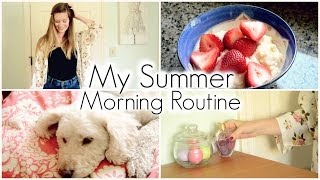 Michelle's Summer Morning Routine 2014! Thumbnail