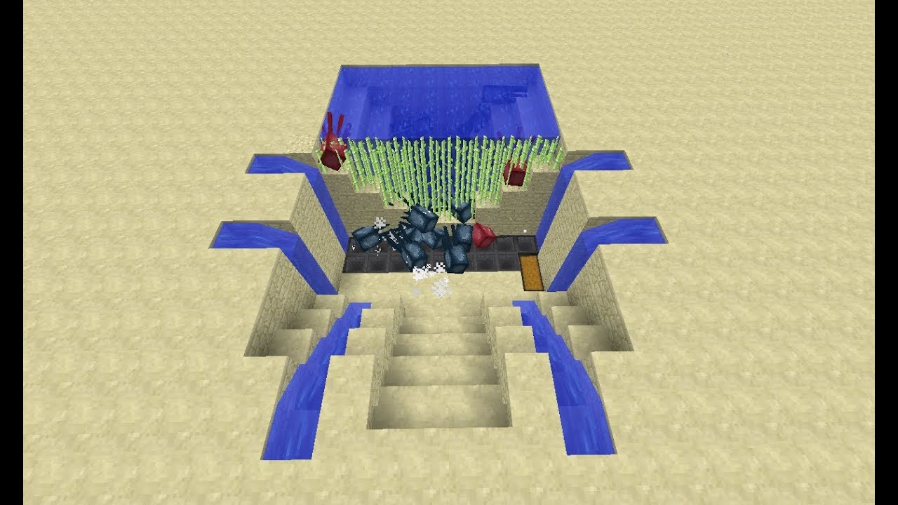 How To Build A Squid Farm In Minecraft