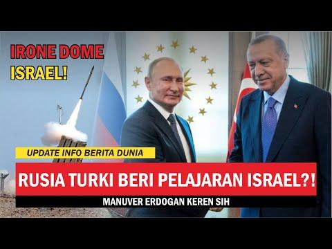 RUSIA TURKI INTERVENSI ISRAEL   KEKUATAN MILITER ISRAEL