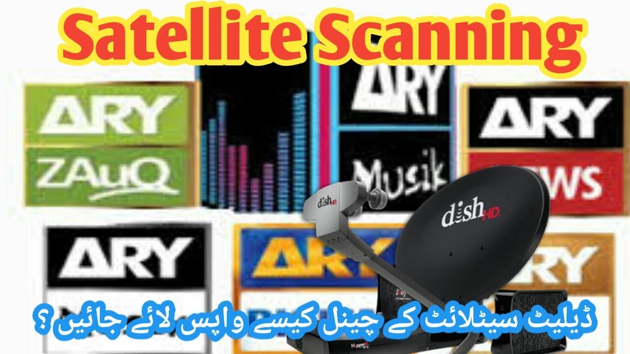 How to add deleted satellite on Receiver and scan channels   Urdu/hindi