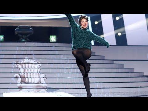 Lucía Gil viaja en el tiempo para interpretar 'Tengo 17 años' como Rocío Dúrcal - Tu Cara Me Suena