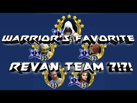 Best Revan Team Comp?!?!  star wars galaxy of heroes swgoh
