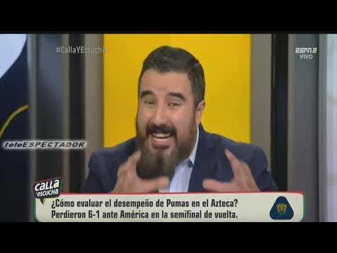 Asi se burlo el Brujo Morales de Pumas por la eliminacion a manos del America - CYE