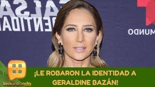 ¡Le robaron la identidad a Geraldine Bazán! | Programa del 02 de septiembre de 2019 | Ventaneando