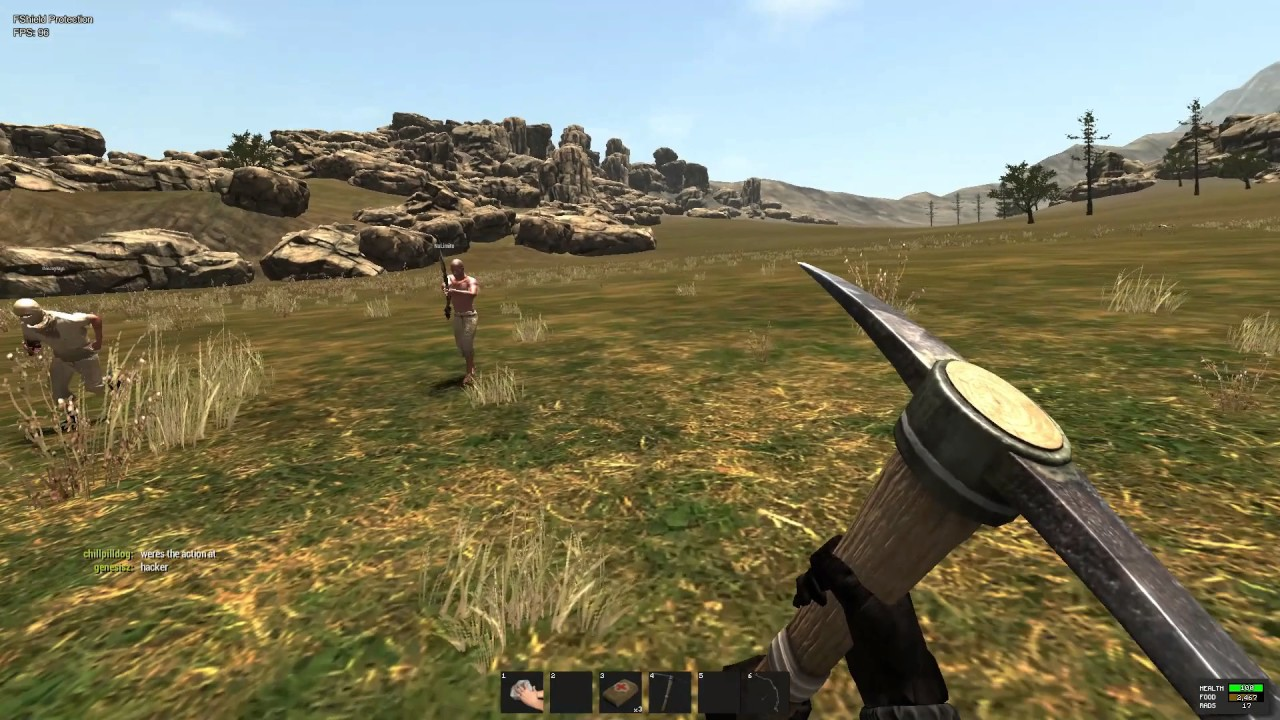 how to play rust legacy on steam 2017