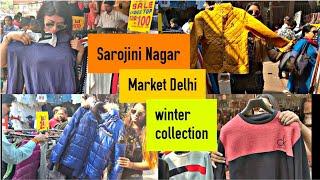 SAROJINI NAGAR Market Delhi | *NEW Winter Collection Sarojini Nagar Stuff Under rs.100, 200|