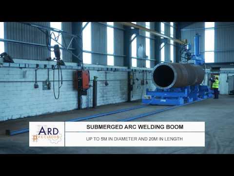 Fabrication of wind turbine masts, stadium light towers, jack-up legs - ARD Precision Ireland